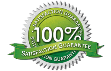 100 Satisfaction Guarantee logo